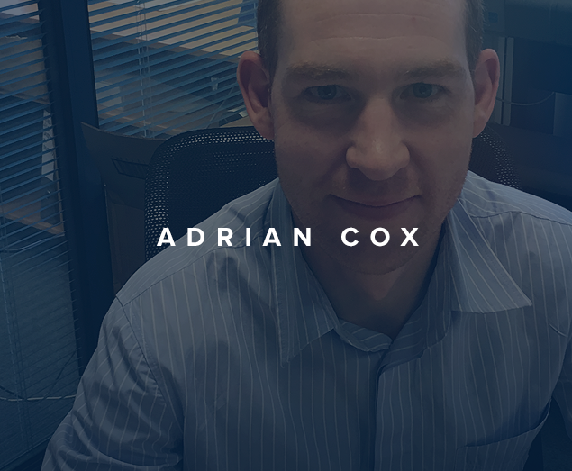 Meet the team: Adrian Cox