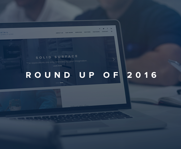 A Quick Yearly Round Up of 2016 at Retail Furniture