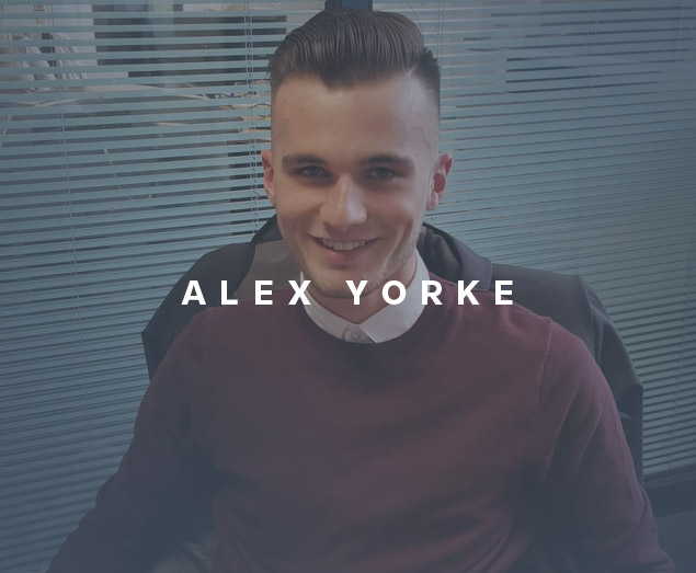 Meet the team: Alex Yorke, Trainee Account Manager