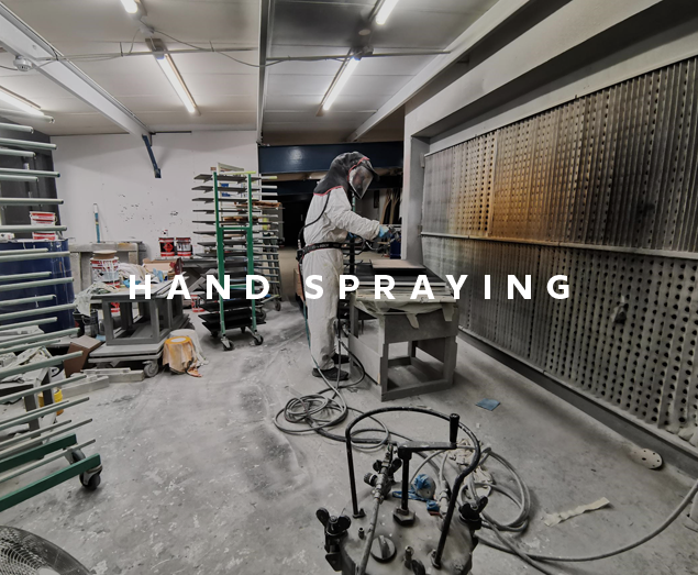 Hand Spraying to Perfection